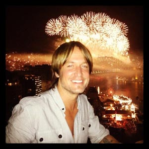 Keith Urban NYE