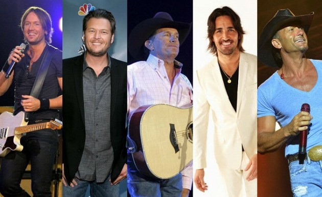 Hottest Male Country Singers 2013 Hottest Male Country Singers