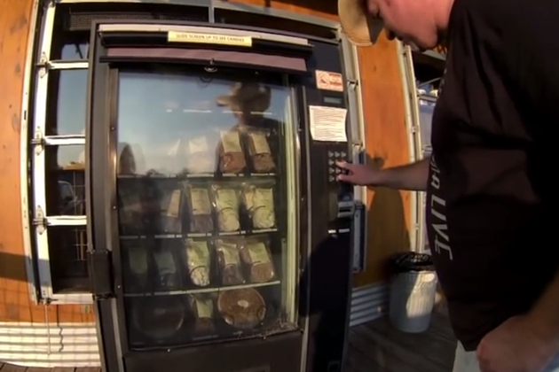 Texas Pecan Pie Vending Machine